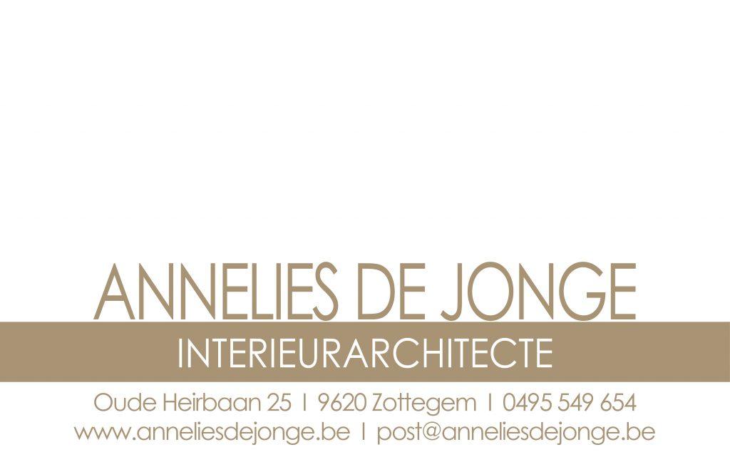 Annelies De Jonge - Interieurarchitecte