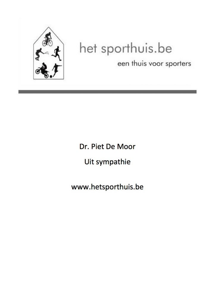 Het Sporthuis Piet De Moor