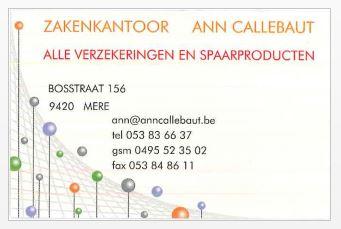 Zakenkantoor Ann Callebaut